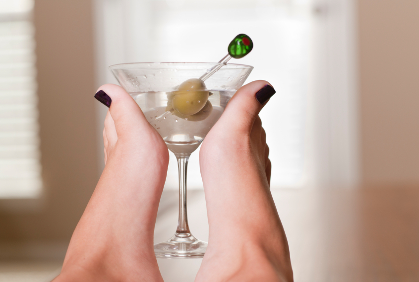 Image result for drinks and pedicure