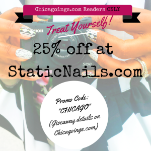 {June Giveaway} Everyone wins with 25% off at Static Nails