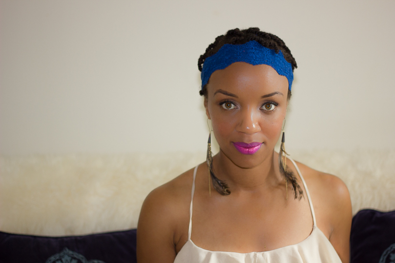 Festival Fashion Headwear Blue Headband