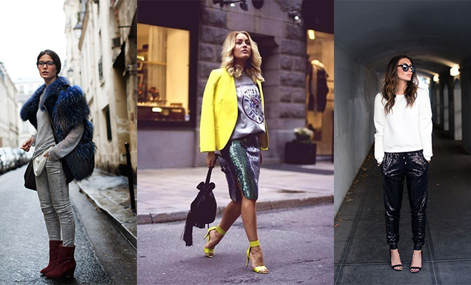 How to Wear a Sweatshirt with a Skirt